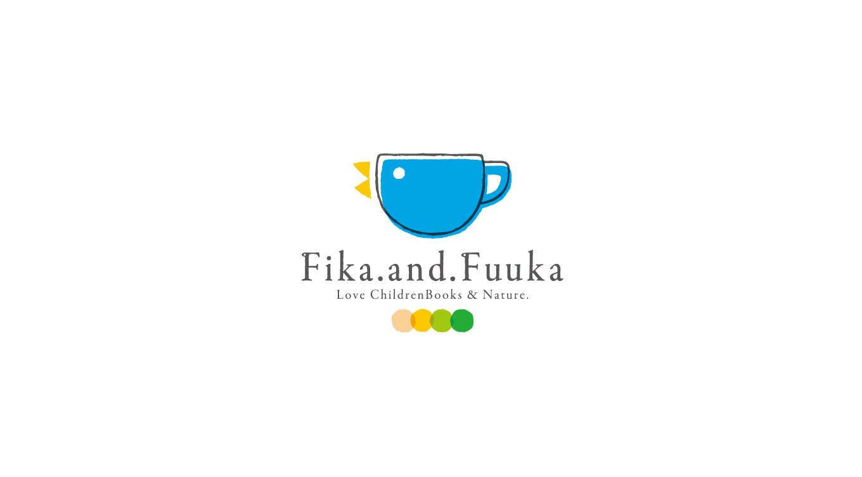 オンラインコミュニティ 「Fika.and.Fuuka」 ロゴデザイン